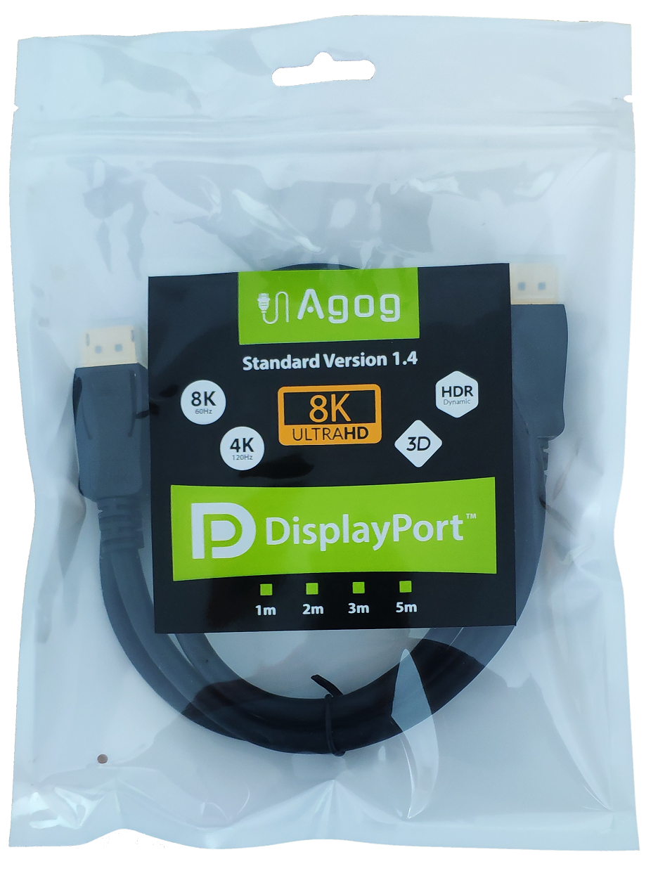 kabel displayport dp 1.4 Agog 8k 4k FHD