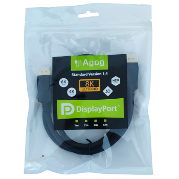 Agog kabel displayport dp 1.4 Agog 8k 60Hz 4k 120Hz