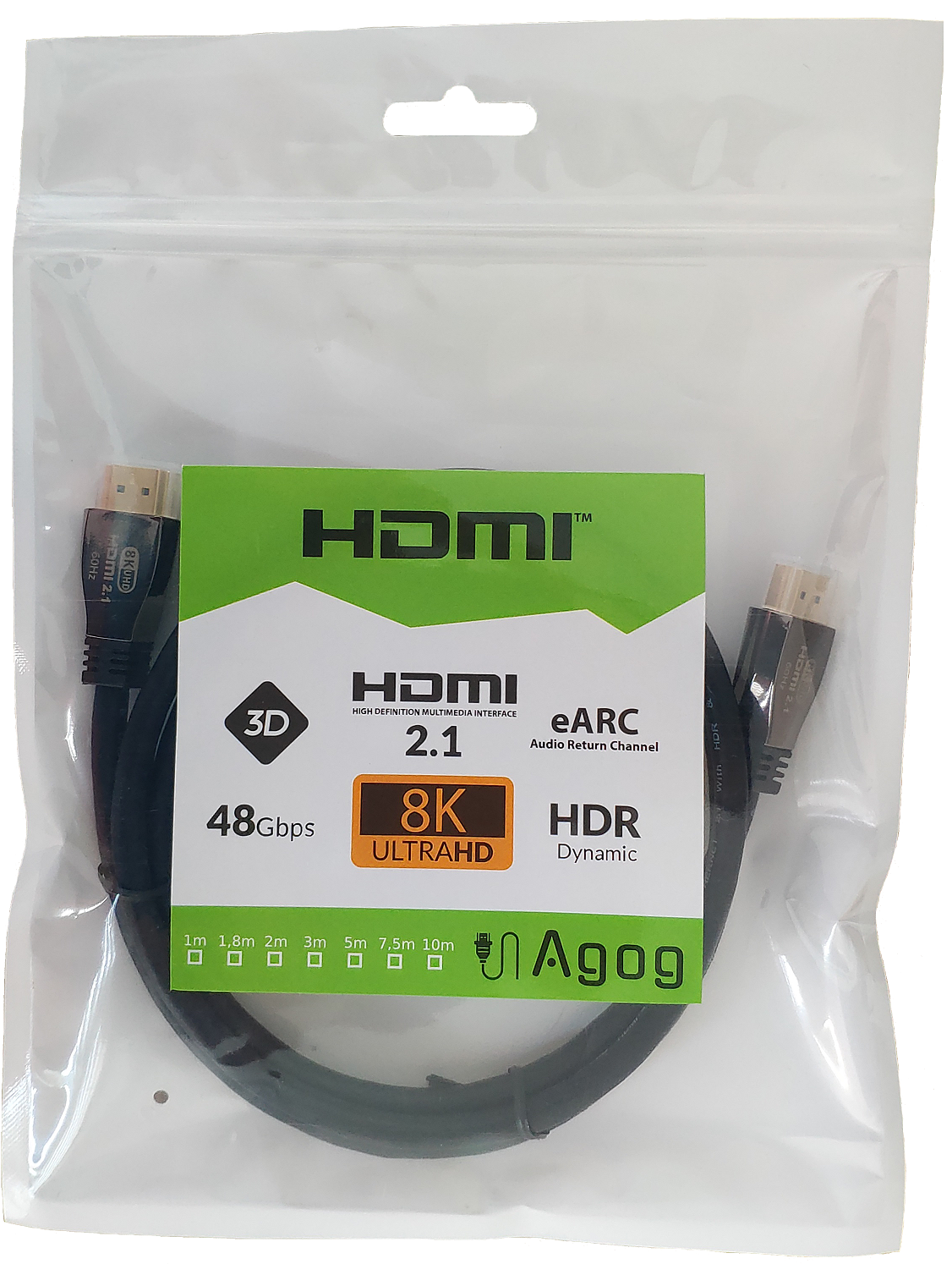 /profesjonalny kabel hdmi 2.1 8k ultra high speed Agog