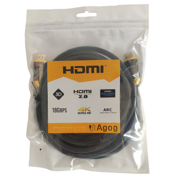 kabel hdmi 2.0 4k 60hz fhd luxury Agog X-M200