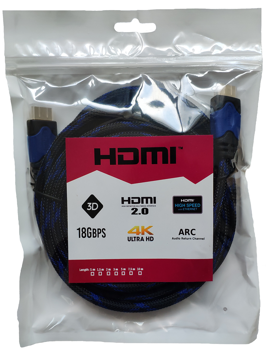 kabel hdmi 2.0 ultra high speed uhd 4k 60Hz fhd