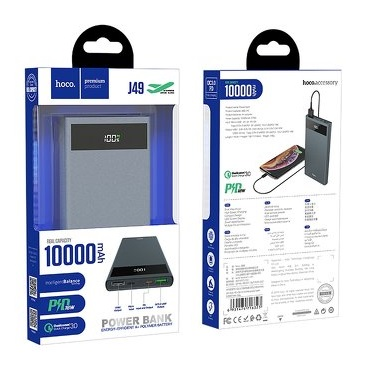 hoco power-bank 10-000mah power delivery